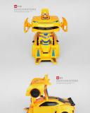 子供のためのR/Cの変形のBumblebee (ライセンス)車のおもちゃ