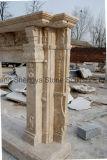 Chimenea de mármol antigua