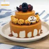 Торт покрывает Tableware пульпы подноса с крышкой