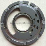 Plaque de soupape de la pompe hydraulique de mini excavatrice de KOMATSU (PC40)