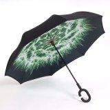 Parapluie inversé par parapluie renversé automatique de Double couche
