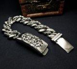 De Juwelen van het Titanium van het Lichaam van de Armbanden van identiteitskaart van de Manier van de Stijl van de punker & van de Rots Unisex-