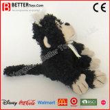 Singe noir animal bourré bon marché de jouets