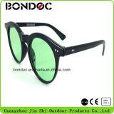 Venda a quente da estrutura redonda óculos de sol para as mulheres