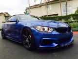 Diffuseur de côté de fibre de carbone de F30 F32 pour la BMW
