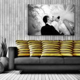 공장 가격 도매 벽 전시 화포에 개인화된 인쇄 사진