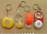 Dimensión de una variable LED Keychain del ganso con THK-022