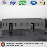 Китай пользовательский дизайн сборных легких стальных структуры хранения пролить