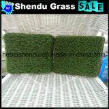 Alto densidade toda a grama 20mm artificial verde