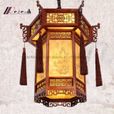 Lâmpada retro do pendente da forma da lanterna do estilo chinês para o corredor