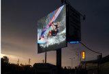 P8 SMD LED de exterior3535 a tela de vídeo de publicidade exterior