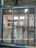 Дверь перевода термально пролома высокого качества Woodwin алюминиевая