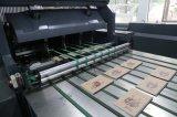 Cuaderno obligatorio del pegamento blanco Full-Automatic que hace la máquina de carrete al cuaderno