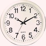 Horloge murale personnalisée à quartz en acier inoxydable