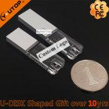 USB a cristallo Pendrive quadrato (YT-3270) del regalo di marchio dell'incisione del laser