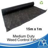 15m*1m PP Spunbond Nonwoven Fabric Tapete de controle de plantas daninhas