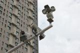情報処理機能をもった高速PTZ 100mの夜間視界IRの監視カメラ