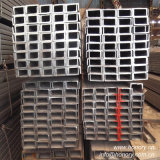 """Scanalatura a """"u"""" d'acciaio standard laminata a caldo di JIS per la struttura d'acciaio"""