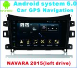 Androïde Systeem 6.0 de Speler van de Auto DVD voor Navara 2015 (Verlaten aandrijving)