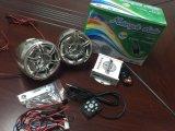Amplificador acessório do USB SD MP3 da motocicleta da motocicleta do sistema de alarme da motocicleta