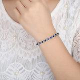 Браслеты способа Zircon ювелирных изделий поставщика Китая голубые