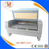 Le double dirige la machine de découpage de laser de CCD (JM-1680T-CCD)
