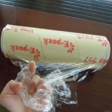 Le PVC de catégorie comestible d'enveloppe en plastique s'attachent film