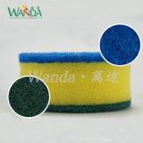 Balai de lavage à double fonction d'éponge de nettoyage de balai d'éponge avec le traitement