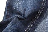11.7oz 두꺼운 면 스판덱스 조방사 능직물 데님 직물