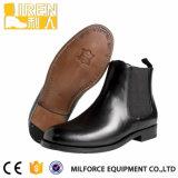 新しいデザインパテント・レザーの警官の服のオックスフォードの革靴