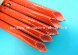 UL Aprobación de la llama Resistencia Resina de silicona fibra de vidrio recubierto 3.0kv manguitos