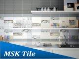 100X300mm Glanz-hellgraue keramische Glasur-Wand-Fliese