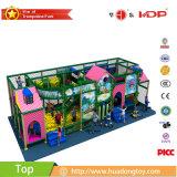 Equipo inflable interior del patio, equipo interior del patio para el centro del desarrollo del niño