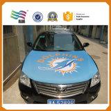 Capa de capa de carro de logotipo personalizada com tecido de espandex ecológico