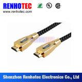 Gold überzogenes HDMI Lötmittel-Koaxialkabel
