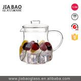 de Pot van de Thee van het Glas van het Glaswerk van 600ml Pyrex Borosilicate met Glas Infuser