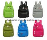 Зеленый Cute картона Kid рюкзак школьные сумки