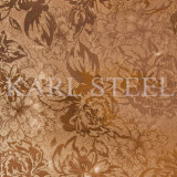 Edelstahl-silberne Farbe geprägtes Blatt Kem006 für Dekoration-Materialien