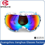 100%の紫外線保護屋外スポーツガラス影響が大きい二重レンズのスノーボードのスキーゴーグル