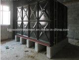 Réservoir d'eau en acier appuyé par émail sectionnel