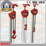 Blocchetto Chain manuale di sollevamento della gru da 2 tonnellate con la puleggia