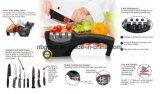 Sacapuntas de cuchillo manuales de cocina de 3 etapas