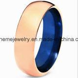 Bague à bijoux Zircon en acier inoxydable en zircon de mode Zircon (TST2868)