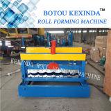 1035 Toit métallique Panneau en tôle ondulée Acier Matériaux structuraux à glace Machine à former des rouleaux
