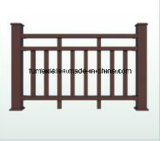 WPC Fencing Wooden Plastic Composite Railing for Outdoor - K-Rl-06