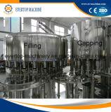 Línea del agua embotellada o planta de embotellamiento de relleno del agua mineral 3 en 1 cadena de producción de relleno completa