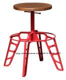 Реплики промышленного металла в ресторане мебель стали стульями