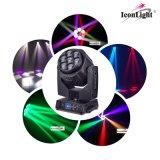 Свет 7 сигналов СИД Moving головной для освещения диско
