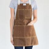 Tablier en gros de cuir d'outil d'artisan avec la courroie en cuir