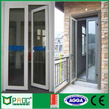 Дверная рама Casement строительного материала высокомарочная с Tempered стеклом